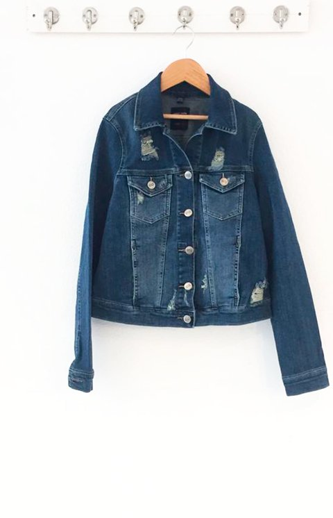 JACKET DENIM GIGI - comprar online