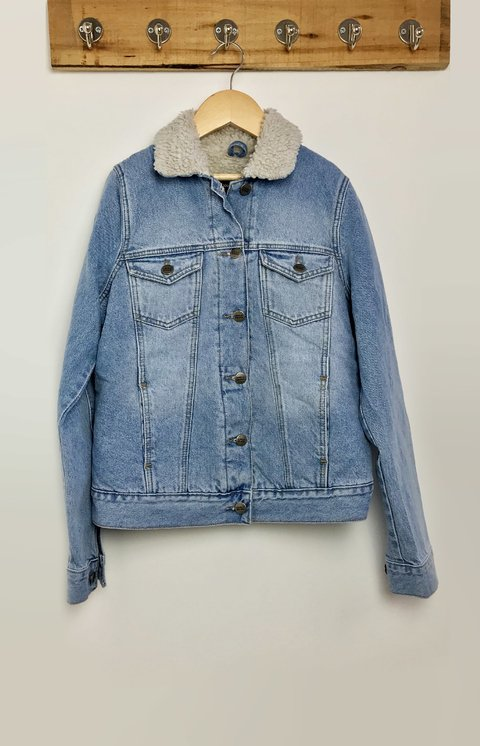 JACKET DENIM CORDERITO