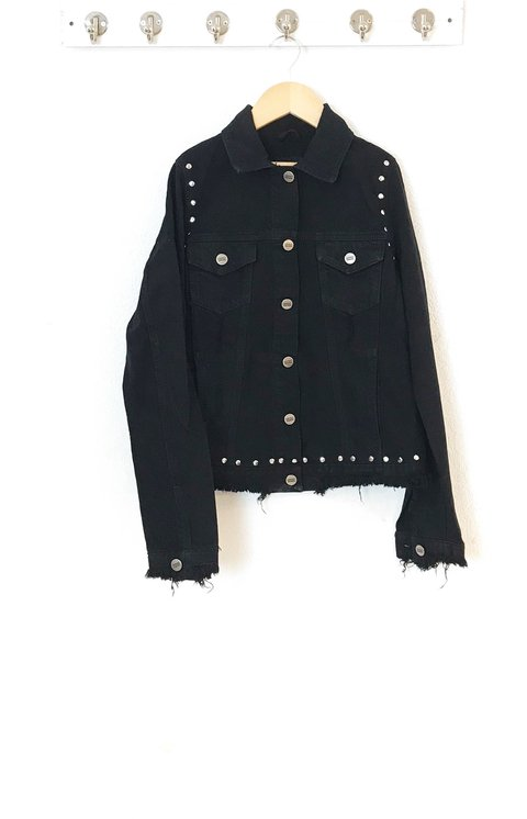 Jacket black buho
