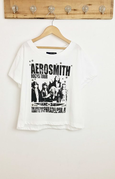 REMERA MUSIC AEROSMITH