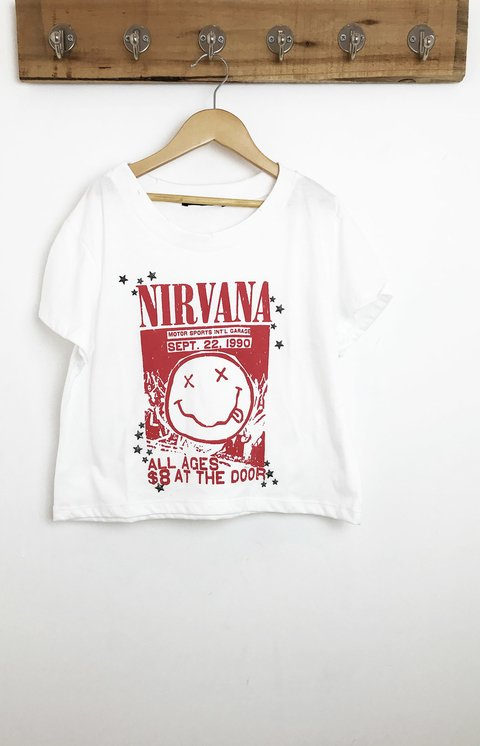 REMERA MUSIC NIRVANA