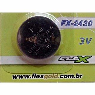 Bateria de Lítio FX-2430 3V Flex