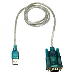 CABO ADAPTADOR CONVERSOR USB 2.0 X SERIAL RS232 DB9