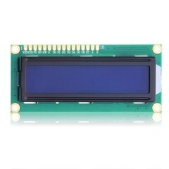 Display LCD 16x2 com Backlight Azul - comprar online