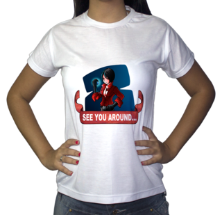 Camiseta Ada Wong (Horror Database)