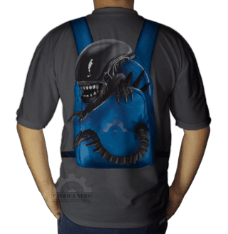 Camiseta Alien Backpack