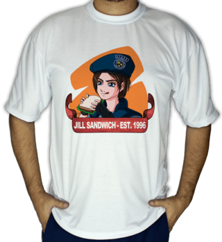 Camiseta Jill Sandwich (Horror Database)