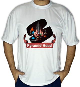 Camiseta Pyramid Head (Horror Database)