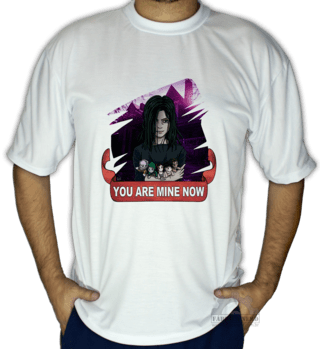 Camiseta Eveline (Horror Database)