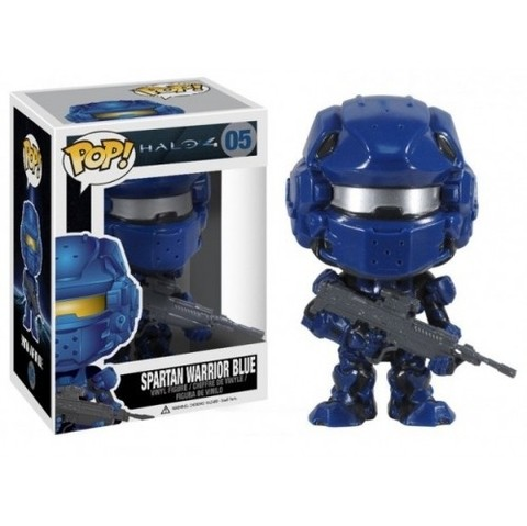 Funko Spartan Warrior Blue