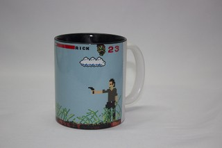 Caneca The Walking Dead 8 Bits - fabricanerd