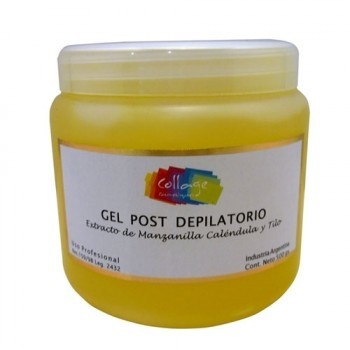 GEL DESCONGESTIVO POST DEPILATORIO MARCA COLLAGE POR 500 grs. - comprar online