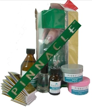 KIT COMPLETO PARA UÑAS ACRILICAS MARCA PINNACLE