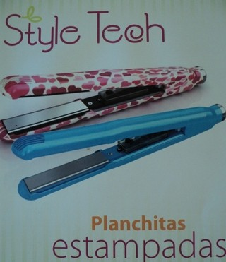 PLANCHA * PLANCHITA MINI MARCA STYLE TECH VIAJES