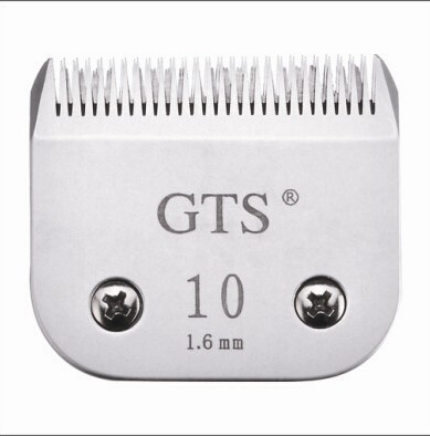CUCHILLA MARCA GTS N° 10 * COMPATIBLE CON ANDIS WAHL OSTER MOSER OVEJA NEGRA