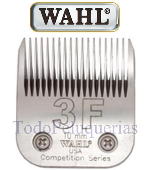 Cuchilla MARCA WAHL 3F Compatible Con Andis Oster Moser Gts