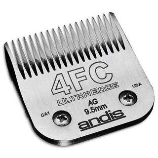 CUCHILLA MARCA ANDIS N° 4FC COMPATIBLE CON OSTER, WAHL, MOSER, GTS, OVEJA NEGRA * EEUU