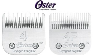 Cuchilla Marca OSTER N° 4 ó 4f Compatible Con Andis Wahl Moser Gts Oveja Negra