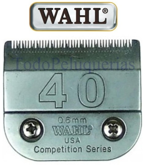 Cuchilla Wahl 40 Compatible Con Andis Oster Moser Gts Perros
