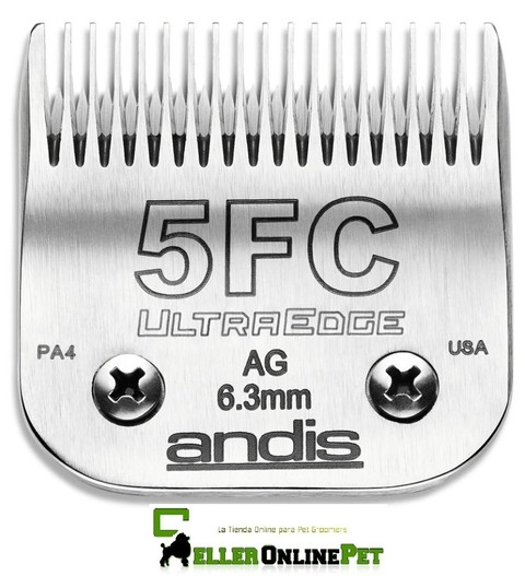 Cuchilla Marca ANDIS N° 5FC Compatible Con Oster Wahl Moser Gts Oveja Negra * EEUU
