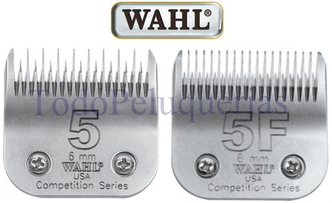 Cuchilla Wahl 5 … 5f Compatible Con Andis Oster Moser Gts