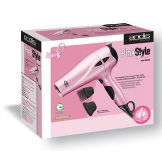 Secador Profesional Marca ANDIS Modelo PINK STYLE Tourmaline Ionic / Ceramic 1875 w