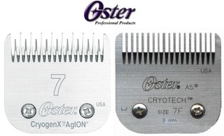 Cuchilla Oster N° 7 ó 7F Compatible Con Andis Wahl Moser Gts