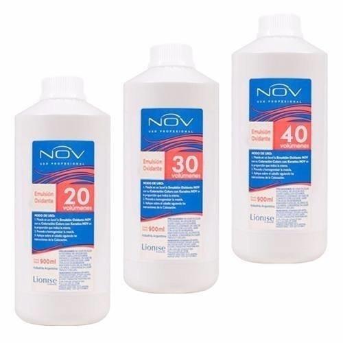 Emulsion Oxidante / Crema Oxigenada Marca NOV De 30 vol por 1900ml