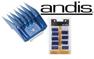 Set 8 Peines Guia Universal Marca Andis Compatible Oster Wahl Gts - 12990 - TODOPELUQUERIAS