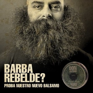 BALSAMO PARA BARBA HARD THE FARMER  Marca DON ANTONIO por 70 grs.* Barbero