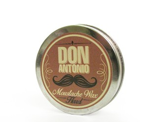 POMADA / CERA  MOUSTACHE WAX HARD Para Barba hard the strongman por 40 grs. Marca DON ANTONIO * Barbero