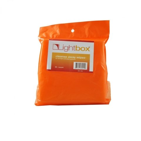 50 CLEANSE WIPES MARCA LIGHTBOX