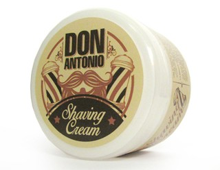 CREMA DE AFEITAR THE BARBER  Marca DON ANTONIO POR 150grs.* Barbero