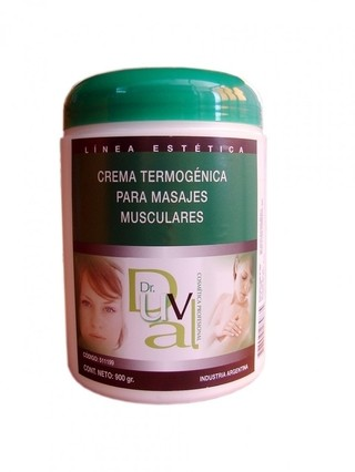 Gel DR. DUVAL  para  MASAJES TERMOGENICA  x 250 grs