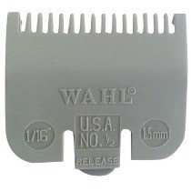 Peine Guia Marca WAHL Nº 1/2 (1.5 mm) Compatible Con SUPER TAPER, COLOUR PRO, HOME PRO y otras
