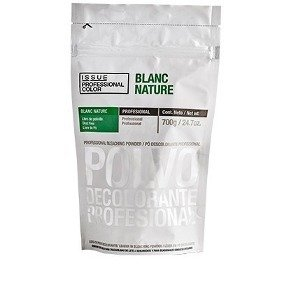 POLVO DECOLORANTE MARCA ISSUE BLANC NATURE  por 700 grs. (VERDE)