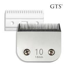 CUCHILLA MARCA GTS N° 10 * COMPATIBLE CON ANDIS WAHL OSTER MOSER OVEJA NEGRA en internet