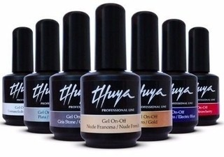 Esmalte UV TOP COAT Gel On Off Marca THUYA por 14ml. para Esmalte Semipermanente secado en Cabina UV - comprar online