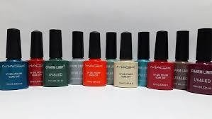 ESMALTE SEMIPERMANENTE DE UÑAS MARCA CHARM LIMIT POR 10ml * Para secado con Cabina UV/LED SEMIPERMANENTE