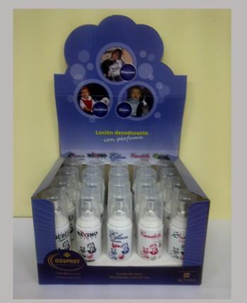 PERFUME * LOCION marca  OSSPRET para perros y gatos por 50 cc. Maximo Bebe Candela Elian Shara Camil