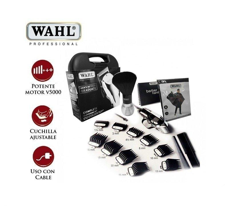 ... comprar online KIT DE CORTE Profesional Marca WAHL Modelo Men s Method  con Accesorios en internet ... fe25e6a5811c