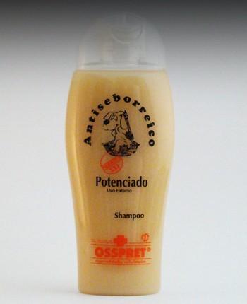 Shampoo POTENCIADO Antiseborreico Marca OSSPRET por 250ml Perro Gato