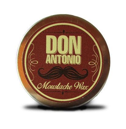POMADA / CERA  MOUSTACHE WAX SOFT Para bigote soft The Duke por 40 grs. Marca DON ANTONIO * Barbero