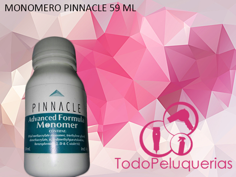 Monomero Para Uñas Acrilicas Marca PINNACLE por 60 ml.