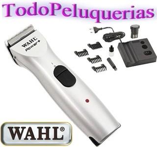 ... CORTADORA DE PELO PROFESIONAL RECARGABLE CON 2 BATERIAS WAHL MODELO  POWER + - comprar online ... 11229a6f43a3