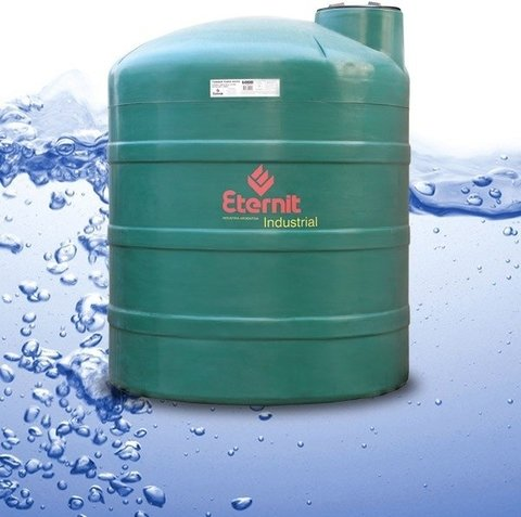 Tanque industrial extra reforzado todo material for Tanques de agua eternit