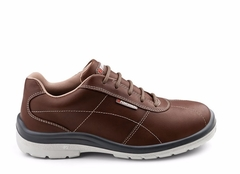 Zapatilla de seguridad City Brown