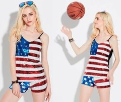 MUSCULOSA FLAG USA