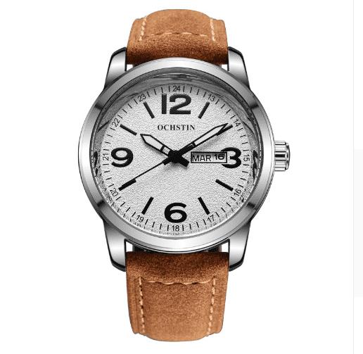3611e680448 Relógio Suíço Unissex Importado De Pulseira De Couro