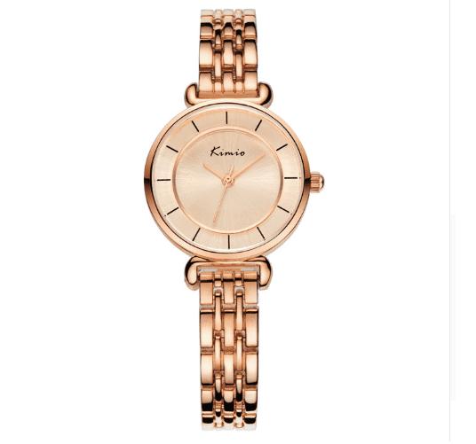 a125b85175d Relógio Feminino Importado De Pulseira De Aço